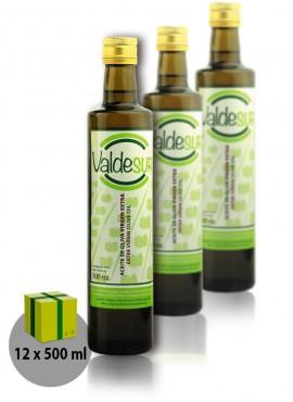 Aceite de Oliva Virgen Extra Valdesur Caja 12 botellas Vidrio 500 ml