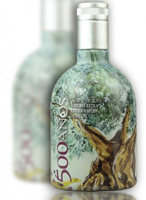 Aceite de Oliva Virgen Extra 500Años Botella Individual 500ml