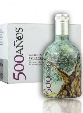 Aceite de Oliva Virgen Extra 500Años Caja 6 Botellas de 500ml