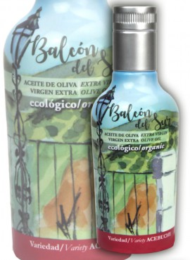 Aceite de Oliva Virgen Extra Balcón del Sur - Variedad Acebuche Botella Individual 250ml