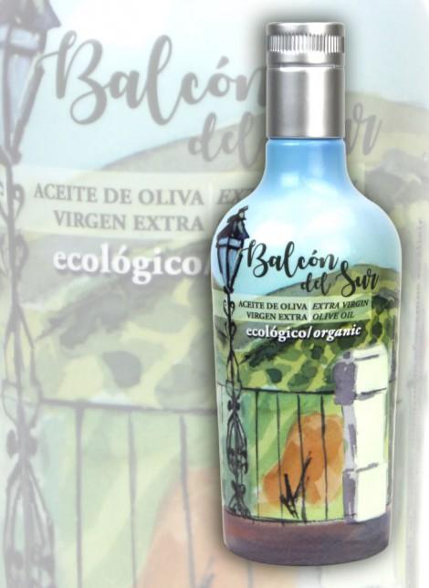 Aceite de Oliva Virgen Extra Balcón del Sur - Ecológico Botella Individual 500ml